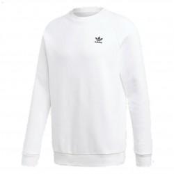 Adidas Originals Essential Crewneck Sweatshirt Férfi Pulóver (Fehér-Fekete) DV1599