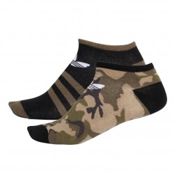 Adidas Originals Camouflage Linear Socks 2P 2 Páras Zokni (Fekete-Zöld) DV1727