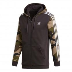 Adidas Originals Camouflage Hoodie Férfi Felső (Barna-Zöld) DV2019