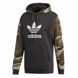 Adidas Originals Camouflage Hoodie Férfi Pulóver (Barna-Zöld) DV2023