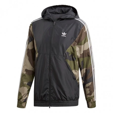 Adidas Originals Camouflage Windbreaker Férfi Széldzseki (Barna-Zöld) DV2049 67d2e37659