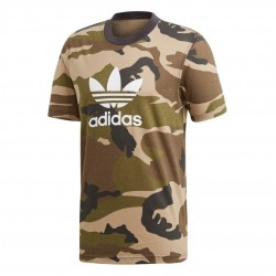 Adidas Originals Camouflage Trefoil Tee Férfi Póló (Barna-Zöld) DV2067