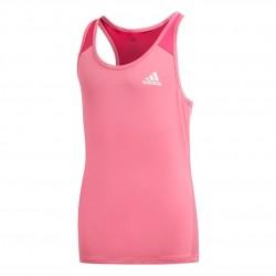 Adidas YG Logo Tank Top Lány Gyerek Trikó (Rózsaszín-Fehér) DV2754