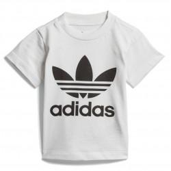 Adidas Orifinals Trefoil Tee Uniszex Bébi Póló (Fehér-Fekete) DV2828