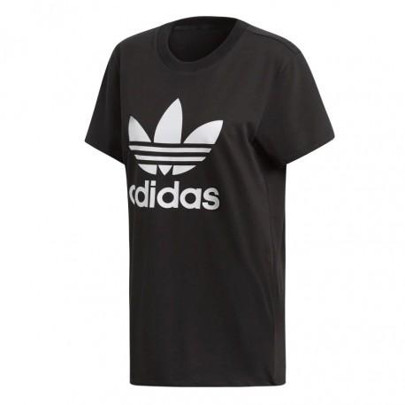 f380778ecb Adidas Originals Boyfriend Tee Női Hosszított Póló (Fekete-Fehér) DX2323