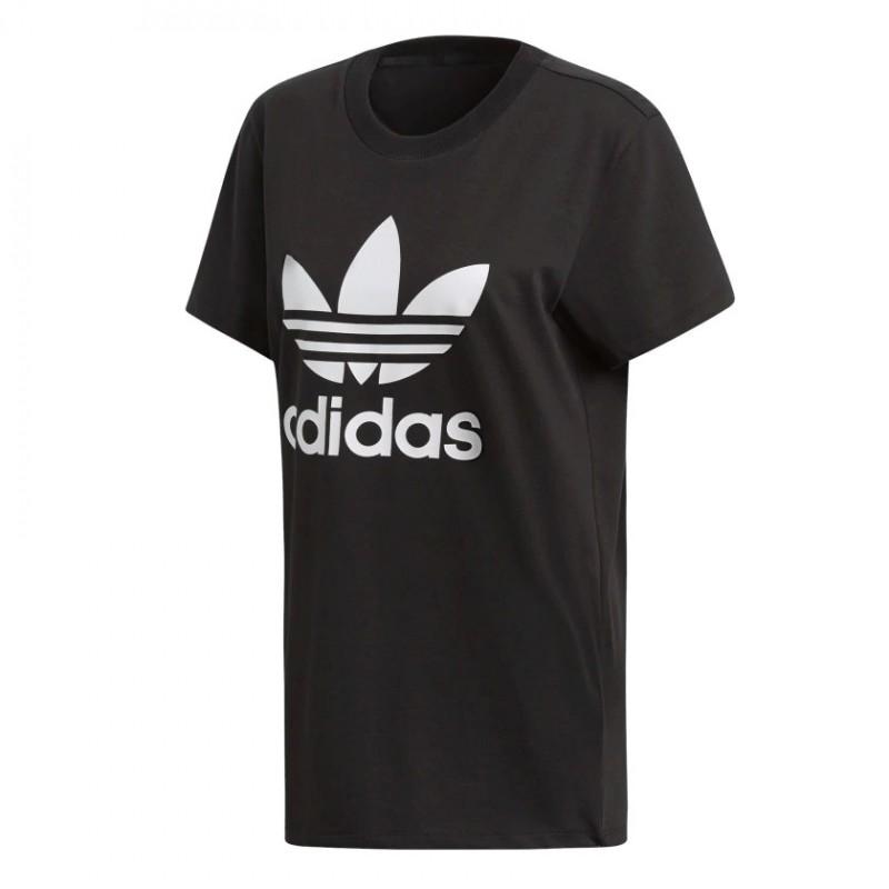 1ccdfca27e Adidas Originals Boyfriend Tee Női Hosszított Póló (Fekete-Fehér) DX2323