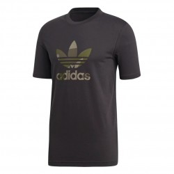 Adidas Originals Camouflage Trefoil Tee Férfi Póló (Fekete-Zöld) DX3674