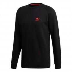 Adidas Originals V Day Sweatshirt Férfi Felső (Fekete-Piros-Fehér) FH7884