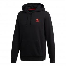 Adidas Originals V Day Hoodie Férfi Pulóver (Fekete-Piros-Fehér) FH7887