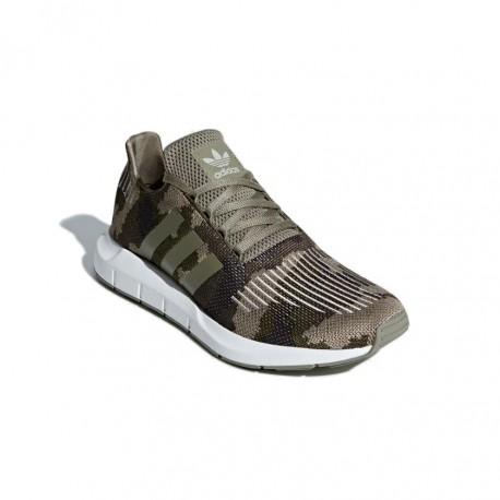 Adidas Originals Swift Run Férfi Cipő (Zöld-Szürke-Fehér) BD7976 7204c090c4