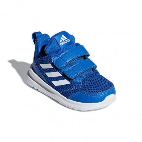 Adidas AltaRun CF I Kisfiú Gyerek Cipő (Kék Fehér) CG6818