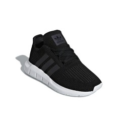 Adidas Originals Swift Run C Fiú Gyerek Cipő (Fekete-Fehér) CG6921