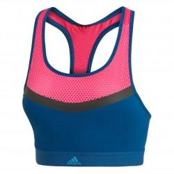 Adidas Dont Rest Swim Top Női Úszó Top (Kék-Rózsaszín) DT4030
