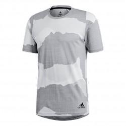 Adidas FreeLift Tech Camouflage G Tee Férfi Póló (Szürke-Törtfehér) DU0903