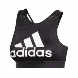 Adidas 2.0 Halter Logo Bra Női Sportmelltartó (Fekete-Fehér) DU1283