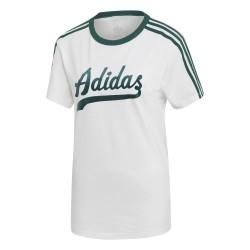 Adidas Originals Regular Tee Női Póló (Fehér-Zöld) DU9916