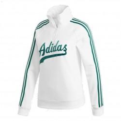 Adidas Originals Sweater Női Pulóver (Fehér-Zöld) DU9922
