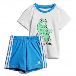 Adidas I Animal Set Kisfiú Bébi Együttes (Kék-Fehér-Zöld) DV1253