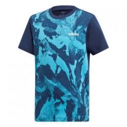 Adidas YB AOP PR Tee Fiú Gyerek Póló (Kék) DV1764