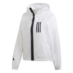 Adidas WND Fleece Lined Jacket Női Széldzseki (Fehér-Fekete) DZ0033 037e6080f3