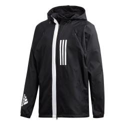 Adidas WND Fleece Lined Jacket Férfi Széldzseki (Fekete-Fehér) DZ0052