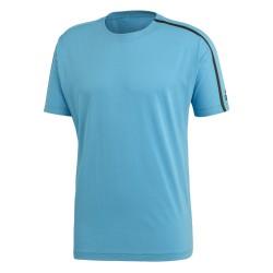 Adidas ZNE Tee Férfi Póló (Kék-Fekete) DP5140
