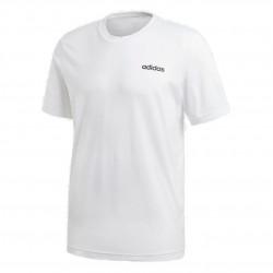 Adidas Essentials Plain Tee Férfi Póló (Fehér-Fekete) DQ3089