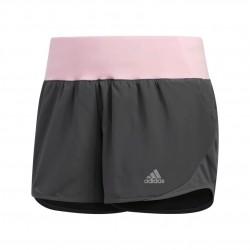 Adidas Run It Shorts Női Futó Short (Szürke-Rózsaszín) DU0608