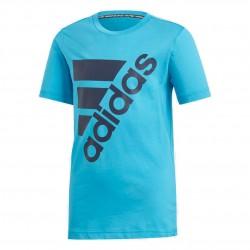Adidas MH Badge Of Sport Tee Fiú Gyerek Póló (Kék) DV0794