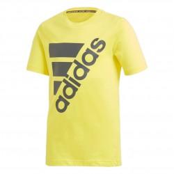 Adidas MH Badge Of Sport Tee Fiú Gyerek Póló (Sárga) DV0796