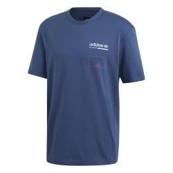Adidas Kaval Graphic Tee Férfi Póló (Kék) DV1908