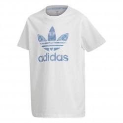 Adidas Originals Culture Clash Tee Lány Gyerek Póló (Fehér-Kék) DV2365