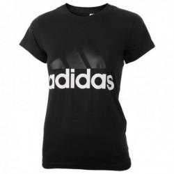Adidas Essentials Linear Slim Tee Női Póló (Fekete-Fehér) B45786