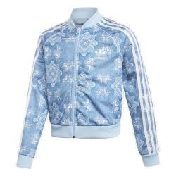 Adidas Originals Culture Clash Cropped SST TR Lány Gyerek Felső (Kék-Fehér) DV2366