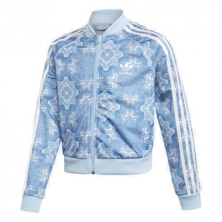 fdd21dab03 Adidas Originals Culture Clash Cropped SST TR Lány Gyerek Felső (Kék-Fehér)  DV2366