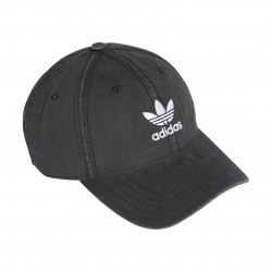 Adidas Originals Adicolor Washed Cap Baseball Sapka (Fekete-Fehér) DV0207