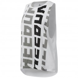 Reebok Foundations Muscle Tank Női Trikó (Fehér-Fekete) DP6200