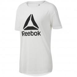 Reebok WOR Logo Tee Női Póló (Fehér-Fekete) DP6692
