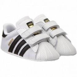 Adidas Originals Superstar Crib Kisfiú Bébi Kocsicipő (Fehér-Fekete) S79916