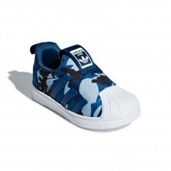 Adidas Originals Superstar 360 I Kisfiú Gyerek Cipő (Kék-Fehér) CG6577