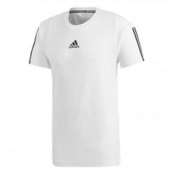 Adidas Must Haves 3 Stripes Tee Férfi Póló (Fehér-Fekete) DQ1453