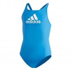 Adidas Badge Of Sport Swimsuit Lány Gyerek Úszó Dressz (Kék-Fehér) DQ3373