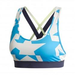 Adidas Dont Rest Iteration Bra Női Sportmelltartó (Világoskék-Fehér) DT2691