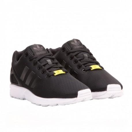 Adidas Originals ZX Flux Férfi Cipő (Fekete-Fehér-Sárga) M19840 a98b97f5b6