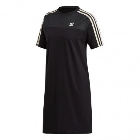 Adidas Originals Tee Dress Női Ruha (Fekete) DU9944