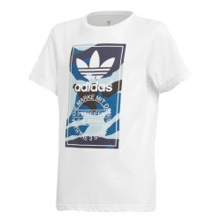 Adidas Originals Camouflage Tee Fiú Gyerek Póló (Kék-Fehér) DV0911