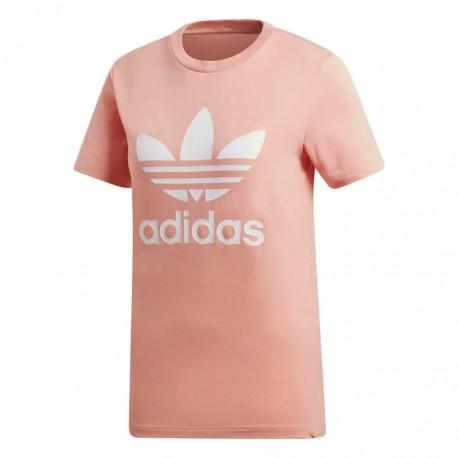 8e9f3bd855b6 Adidas Originals Trefoil Tee Női Póló (Barack-Fehér) DV2587