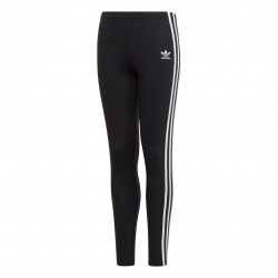 Adidas Originals 3 Stripes Leggings Lány Gyerek Leggings (Fekete-Fehér) DV2874