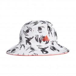Adidas Marvel Spider Man Bucket Hat Kisfiú Bébi Kifordítható Kalap (Fehér-Piros-Fekete)  DW4783