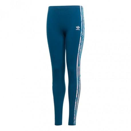 Adidas Originals Marble Solid Leggings Lány Gyerek Leggings (Kék-Rózsaszín) DW9164